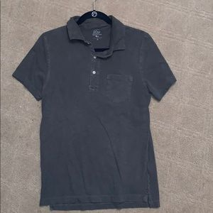 J. Crew Knit Goods Authentic Garmet-Dyed Polo